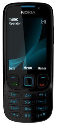 Nokia 6303i Classic black (изображение с сайта Noika)