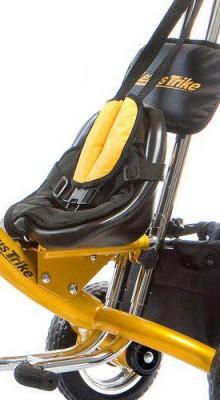 Монолитный узел родительская ручка - велосипед на оригинальном Laser Trike