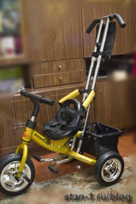 Сборка велосипеда Lexus Trike