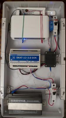 Узел связи 3G для системы удаленного видеонаблюдения