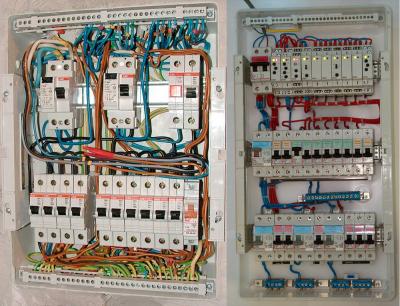 схема электрического щитка для дачи