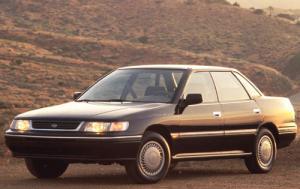 Subaru Legacy Sedan 1989-1993