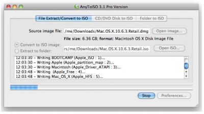 Скриншот программы anytoiso, для конвертации файлов .nrg в .iso