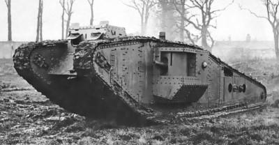 Английский танк Mark IV
