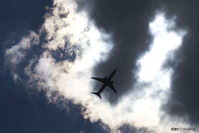 А-320 под солнцем...