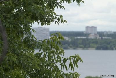 Вид на Левый берег Воронежа
