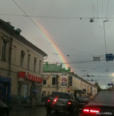 Радуга над Покровским бульваром