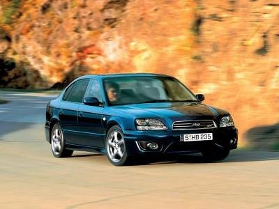 Subaru Legacy Sedan 1999-2003
