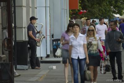 На улицах Воронежа...