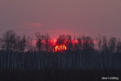 Закат в конце мая