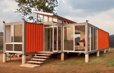 Готовый дом из контейнеров