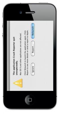 Вылет Safari на iPhone