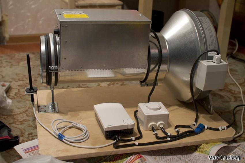 Туннельный вентилятор своими руками