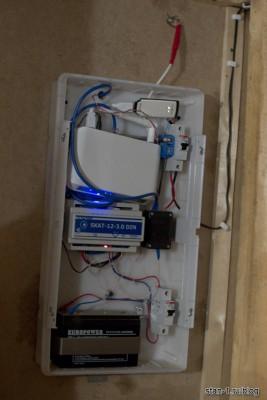 Система видеонаблюдения с модемом AnyData ADU-310A
