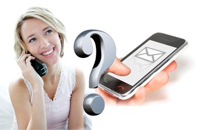 SMS vs Voice