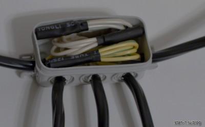 Изоляция соединений с поомщью термоусадочной трубки