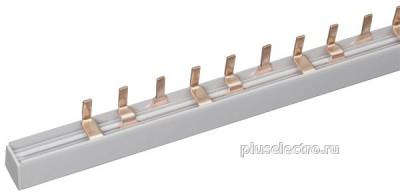 Шина-гребенка для подключения 3-х контактных установочных изделий