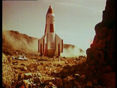 Кадр из фильма Планета бурь 1961 года