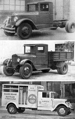 Autocar SA и ЗИС-5