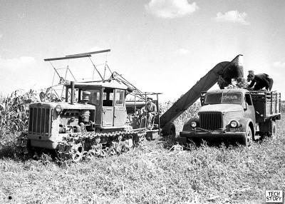 ГАЗ-51 на целине