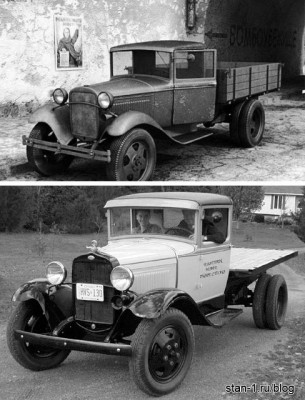 ГАЗ-АА и Ford-AA