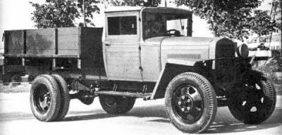 ГАЗ-ММ-В - военная упрощенная версия грузовика ГАЗ-АА