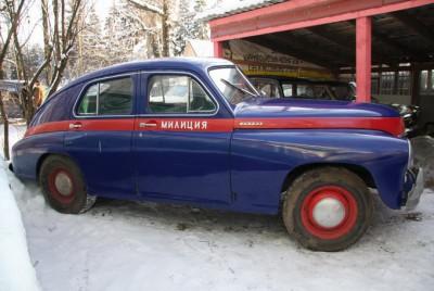 ГАЗ-М-20 'Победа' - милиция