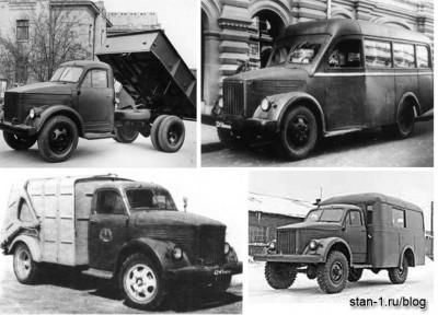 Применения ГАЗ-51
