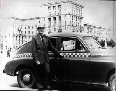 ГАЗ-М-20 Победа - такси