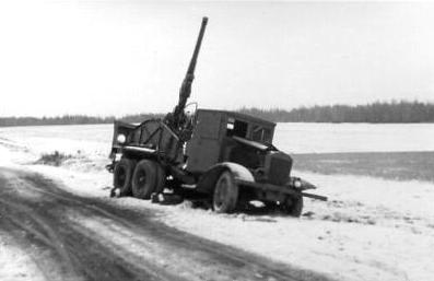 Зенитное орудие на базе ЯГ-6
