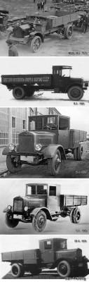 Родословная грузовика ЯГ-6