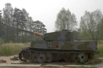 Тяжелый немецкий танк Тигр Т-IV