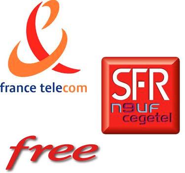 France Telecom vs SFR Neuf vs Free