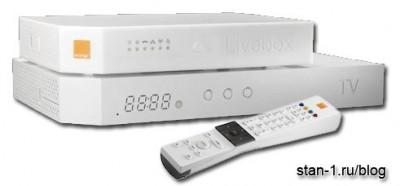 Домашний шлюз и Гибридная приставка Livebox