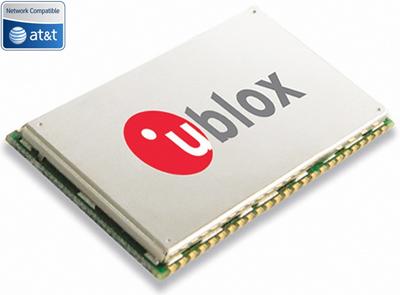 Контроллер для M2M-коммуникаций u-Blox