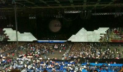 Концерт Pink Floyd в Москве - народ собирается