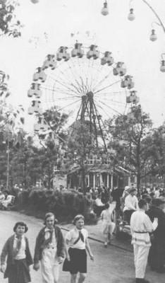 Ландышевая аллея в парке. Довоенный период