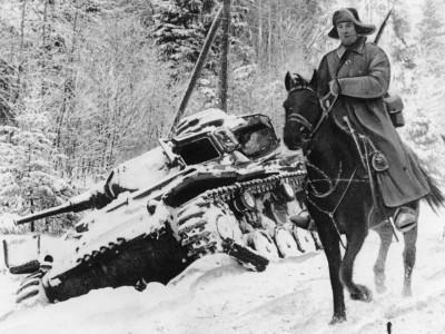 Кавалерия остановила под Москвой танковую армию Гудериана