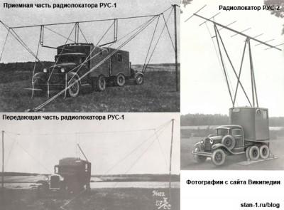 Радиолокаторы вокруг Москвы