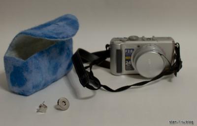 Чехол, фотоаппарат и магнитная кнопка