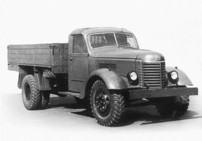 Автомобиль ЗИС-150 выпуска 1951 года