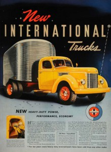 Реклама автомобилей International K-7