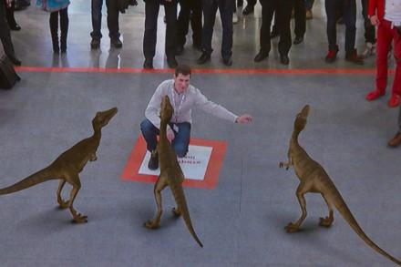 Прогулка по выставке с Динозаврами