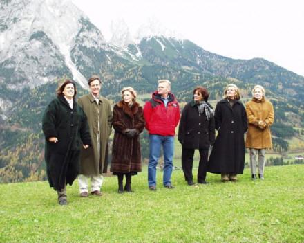 Семья фон Траппа в 70-х или 80-х годах