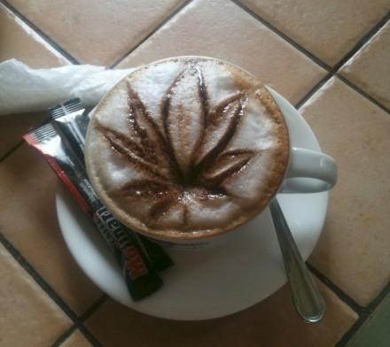 Коноплянное кофе