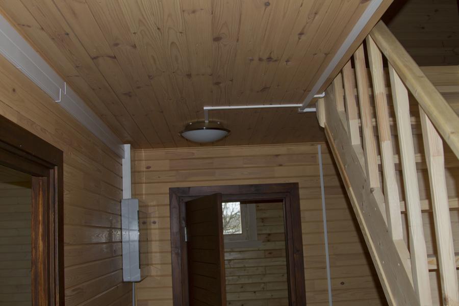 Как сделать электрику в деревянном доме своими руками