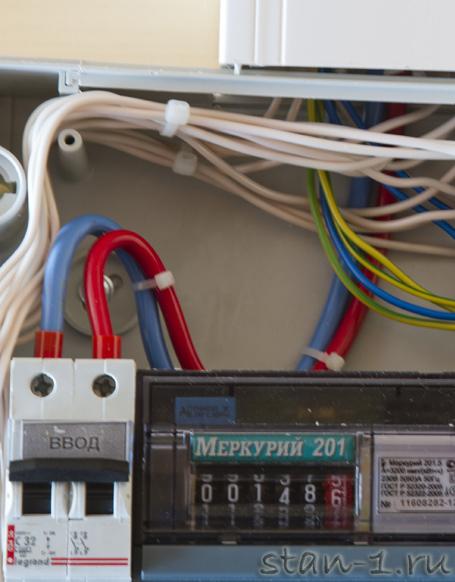 Замена вводного провода в квартиру